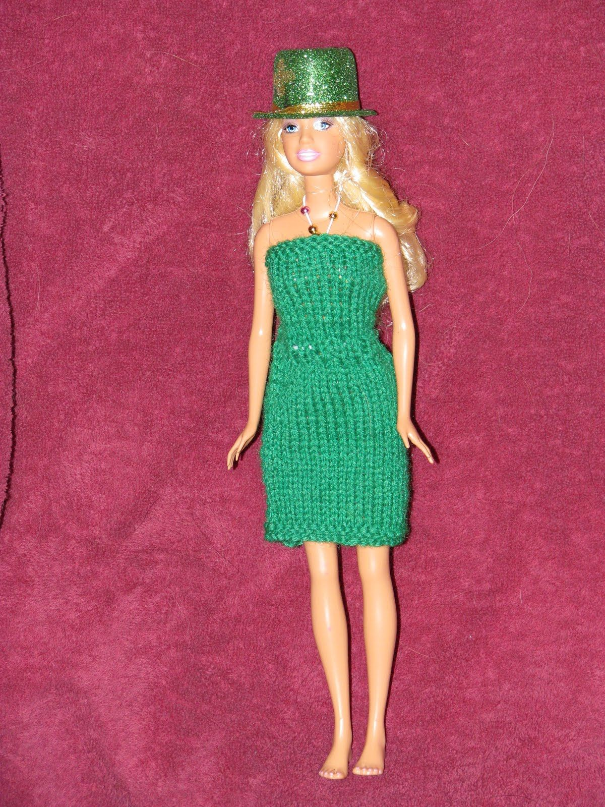30 Free Crochet Patterns for Barbie Doll Clothes - Associated ...