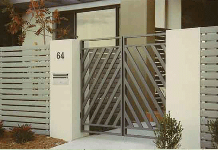 I Really Like This Simple Front Gate Design I Love The Recent Trend