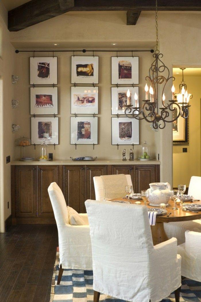 Landhausstil wanddeko  Esszimmer Landhausstil - 50 Innendesigns fürs Esszimmer | Pinterest ...