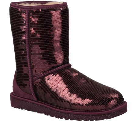 Maroon Sparkly Ugg Boots Is It Bad That I Really Want A