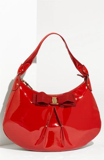 Salvatore Ferragamo Miss Vara Susy Hobo Nordstrom Red Handbagper