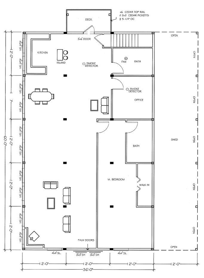 Floor plan for barn house | Amazing places, people and things ...