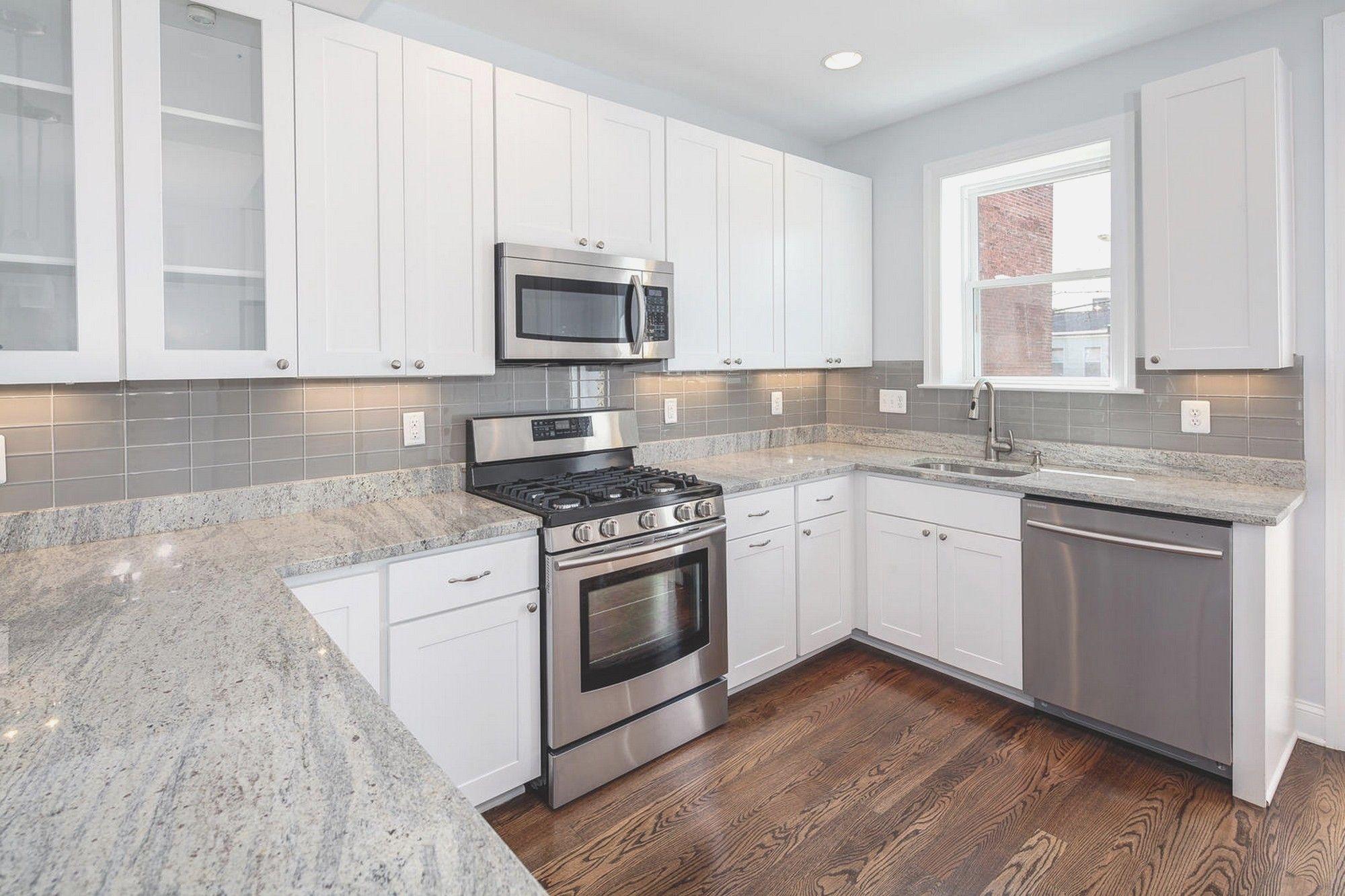 White Kitchens With Granite Countertops Backsplash Ideas For