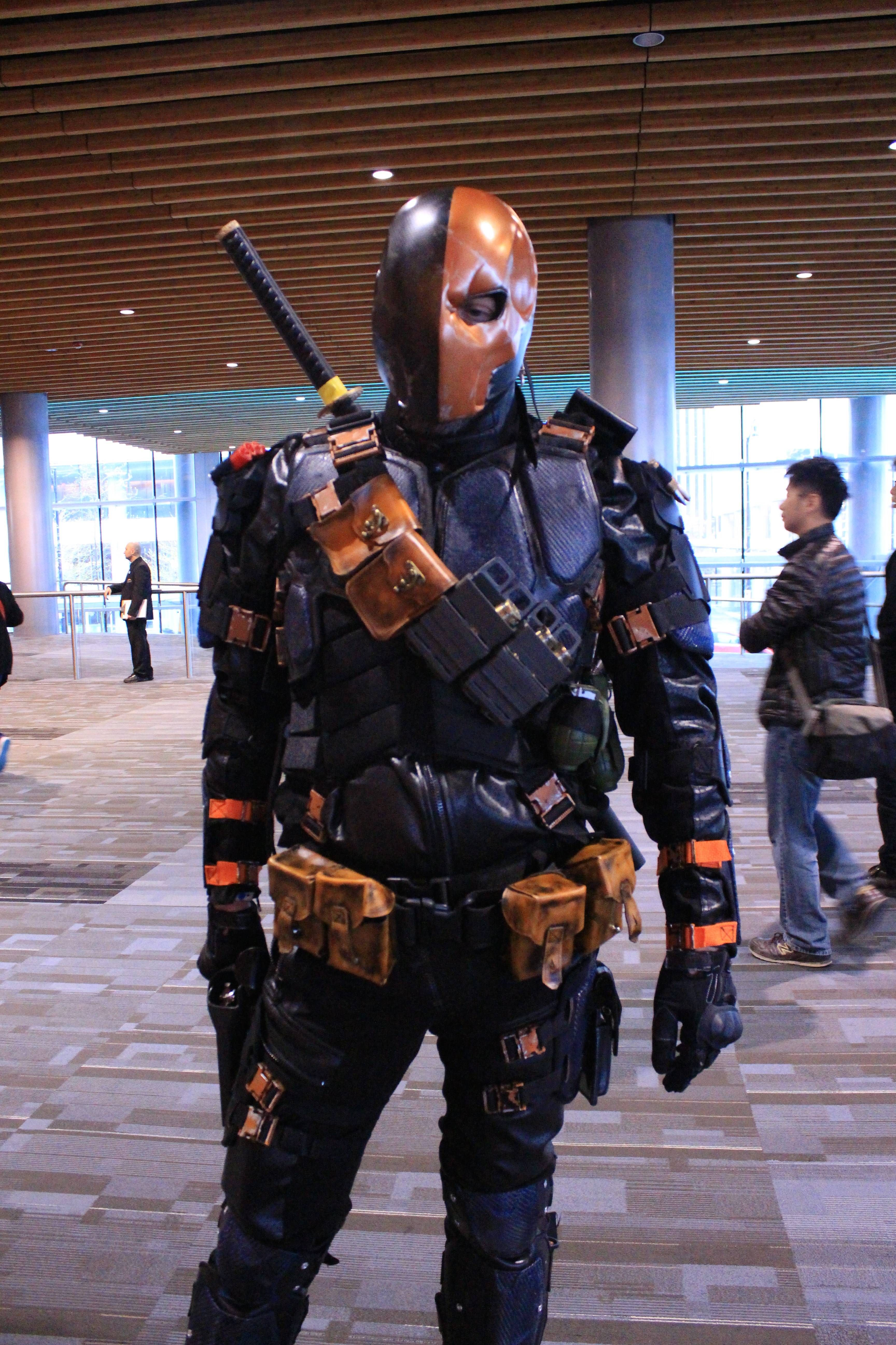 DeathStroke Costume | Deathstroke costume, Deathstroke and Costumes