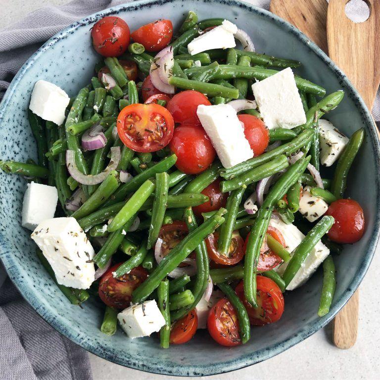Bønnesalat med feta og tomat | Mummum.dk