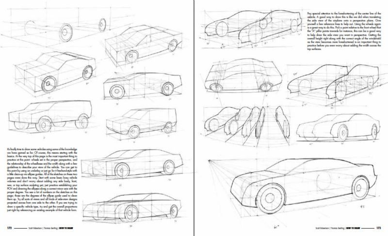 How To Draw book - Drawing Vehicles in Perspective   PERSPECTIVE ...