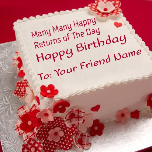 Happy birthday cake images with name editor and photo you download – Happy Birthday Card Editor