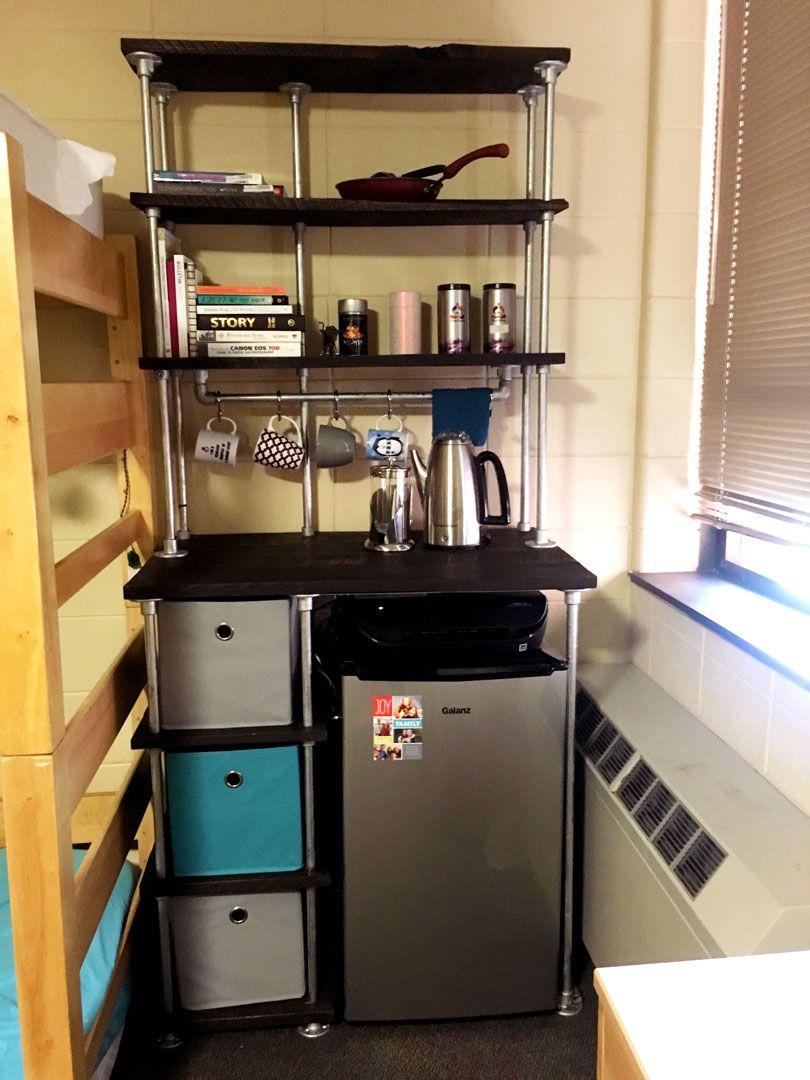 How To Build Your Own Diy Dorm Storage Unit Dorm Diy Dorm