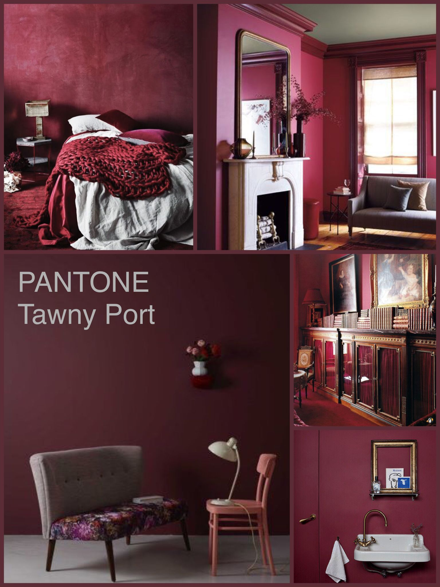 Pantone Tawny Port Home Decor Pantone Fall Pantone