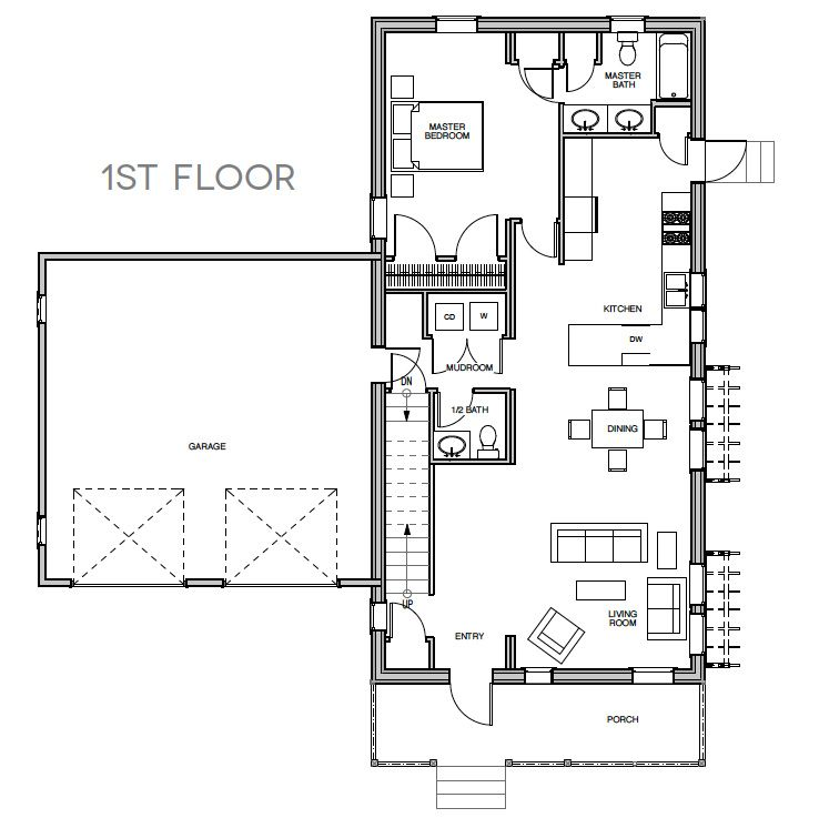 Like That This Floor Plan Has Lots Of Storage Options. Would Be Easy To  Have Garage Green Roof Access As Well