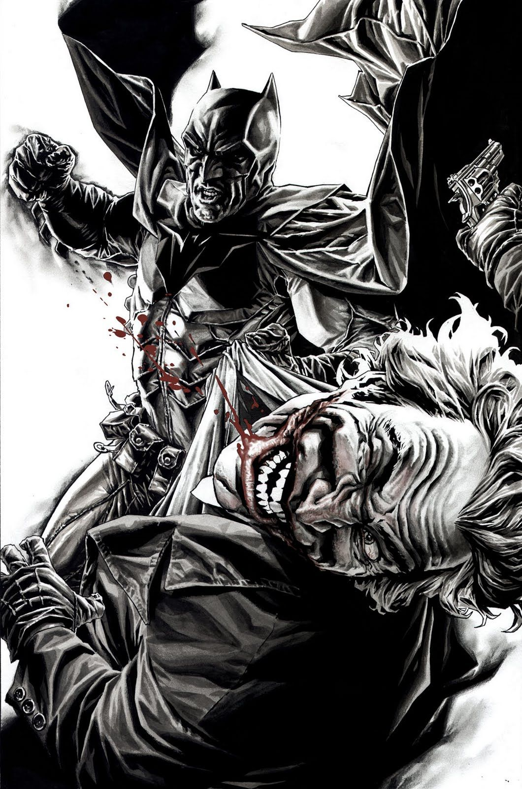 Batman Vs The Joker Batman Batman Dessin Batman Heros
