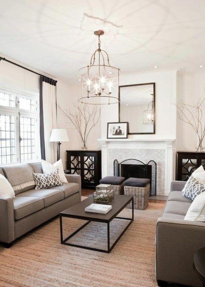 como-decorar-un-salon-estilo-elegante-gris-blanco Salon