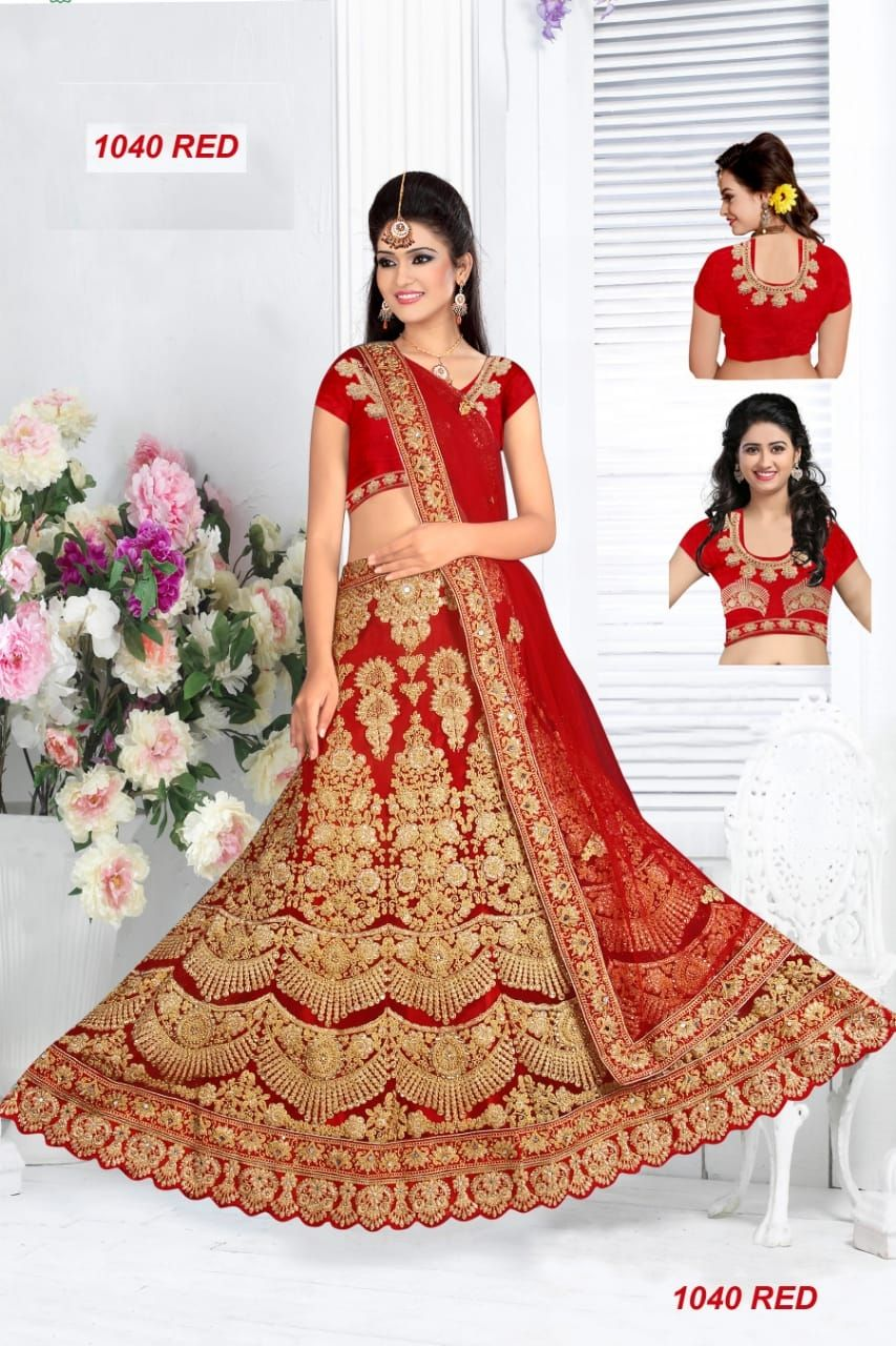 c23a6ccbba Buy Women's Bangalore Silk Semi-Stitched Lehenga Choli Online at Low prices  in India on
