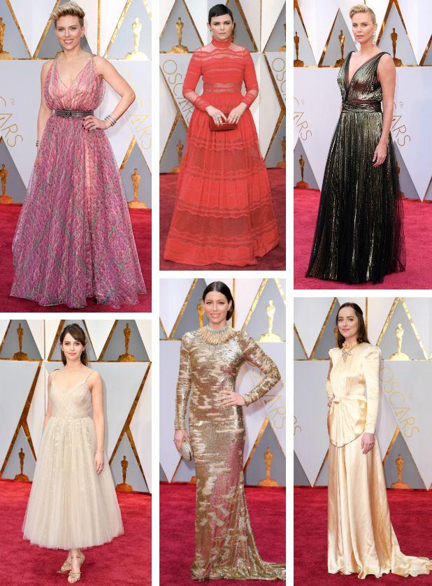 La alfombra roja de los Óscar 2017. - Punta y Tacón - Blog de moda