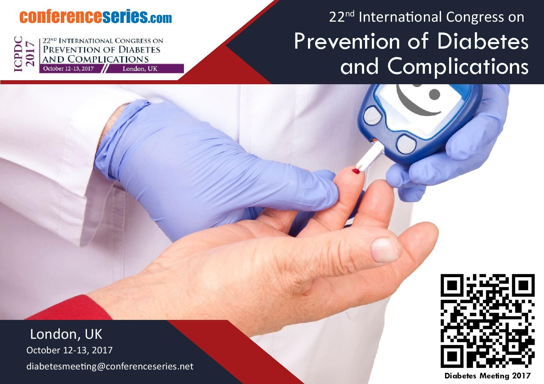 22nd International Conference on Prevention of Diabetes