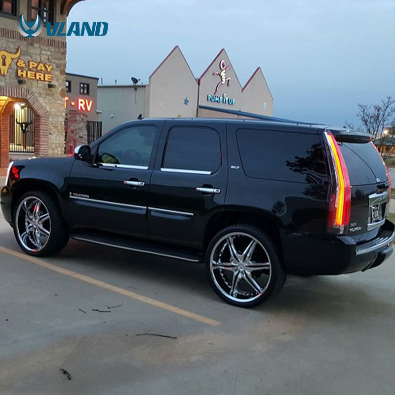 The Item Is A Real Light Of Vland Gmc Yukon Tail Lamp The Color Is Smoked Vland Carlamp Ledtailligh Ledtaillamp G Chevy Tahoe 2014 Chevy Tahoe Gmc Yukon