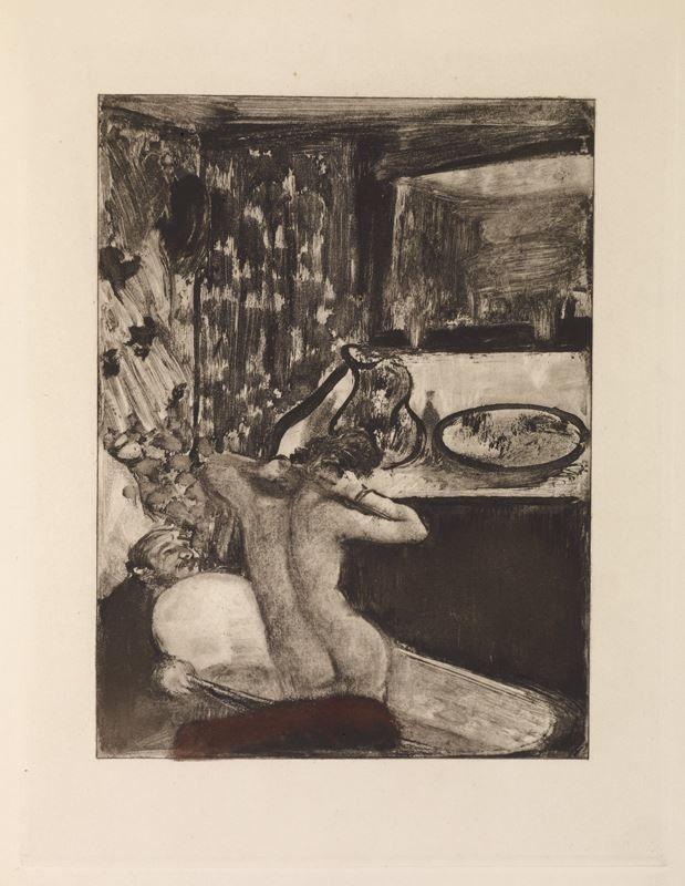 Degas, Monotype