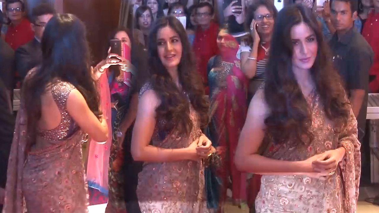 Katrina Kaif Attends Celebrity Makeup Artist Daniel C