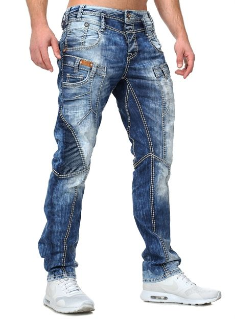 Cipo Baxx Used Jeans Blue Jeans