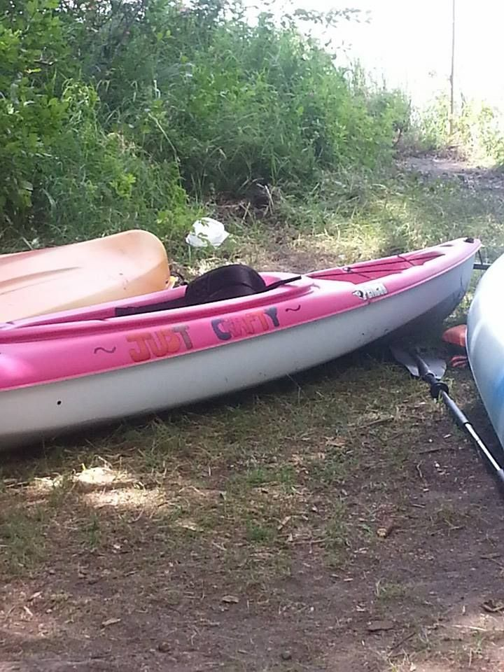 getting crafty with my kayak!