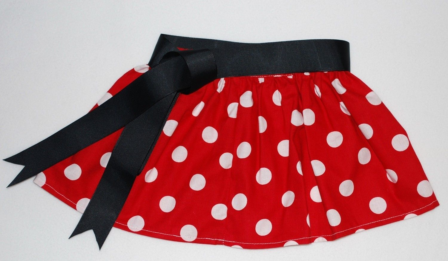 495d6fe60 Red Polka Dot Skirt Minnie Mouse Skirt Size 7/8 youth to Adult ...