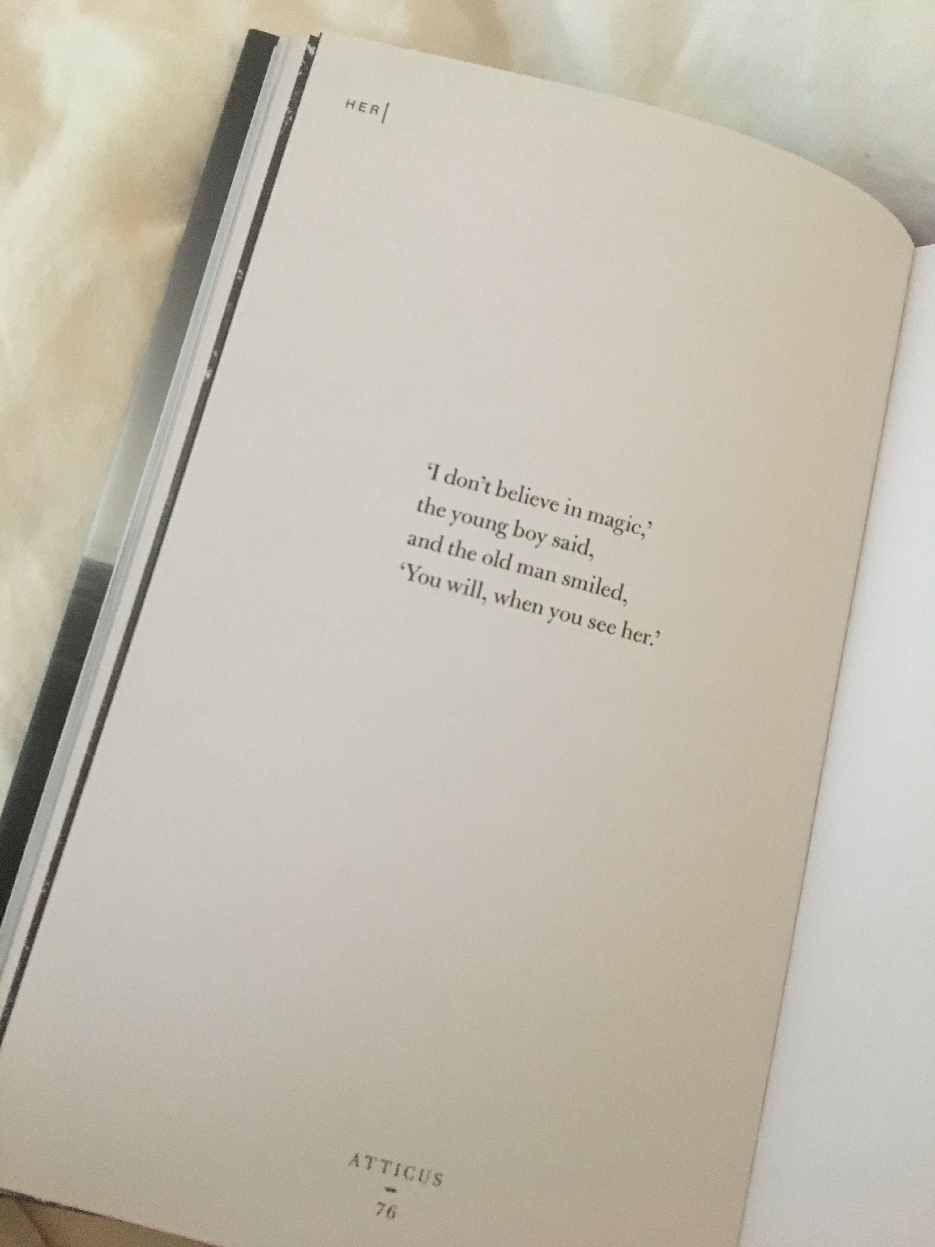 Atticus Poetry Love Magic Honey Quotes Quotes Character Quotes