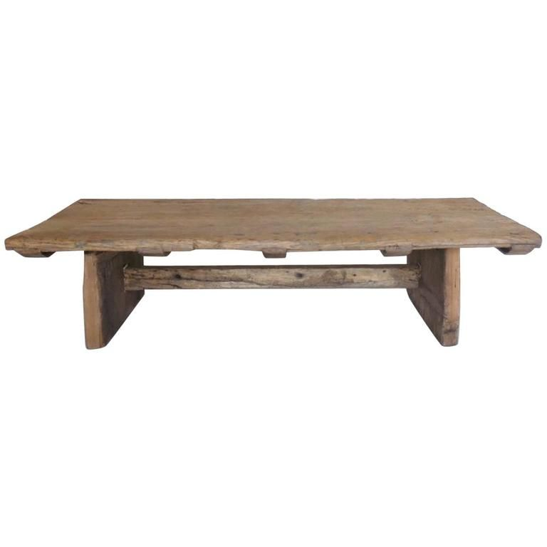 japanese elmwood coffee table from a