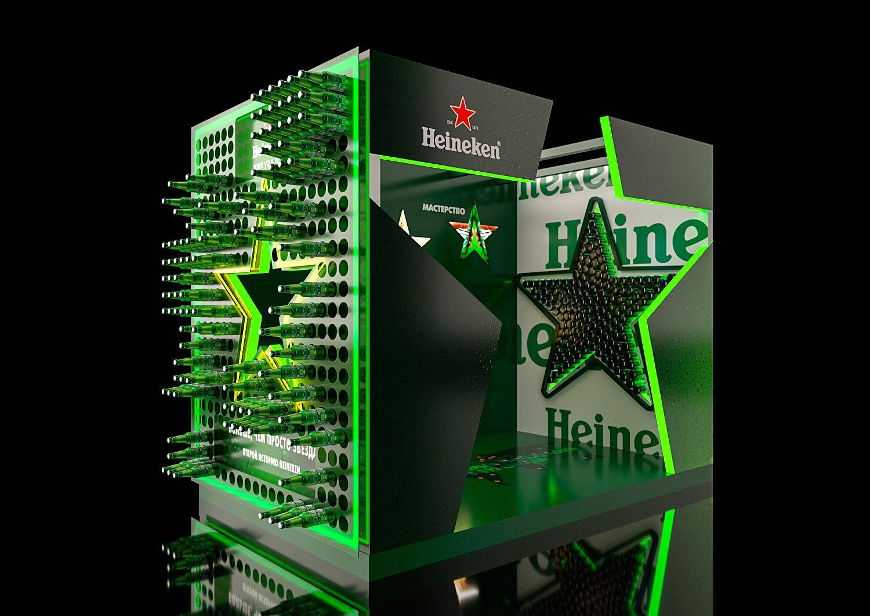 Heineken Posm On Behance Posm Display Design