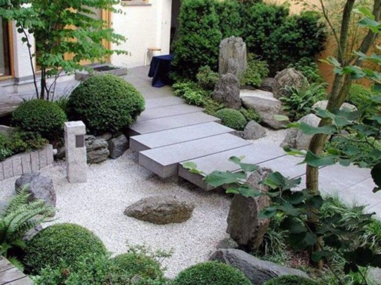 Modern Japanese Garden Design Ideas