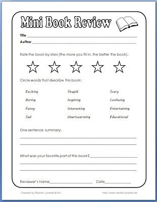 Free 2nd grade Book Report Template - Yahoo Image Search Results - a report template