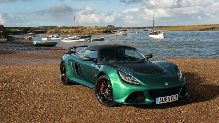 Lotus trimmed a good 112 pounds off the curb weight of the already bantamweight Exige to produce the new Sport 350 model, hitting 60 in 3.7 seconds.