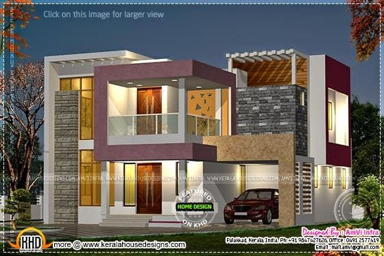 Night view exterior also with floor plan for the home pinterest rh