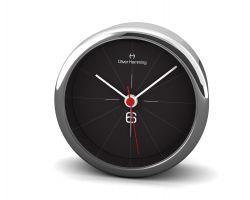 Mehr als nur ein Wecker: Oliver Hemming Uhr H80S26B in elegantem Schwarz