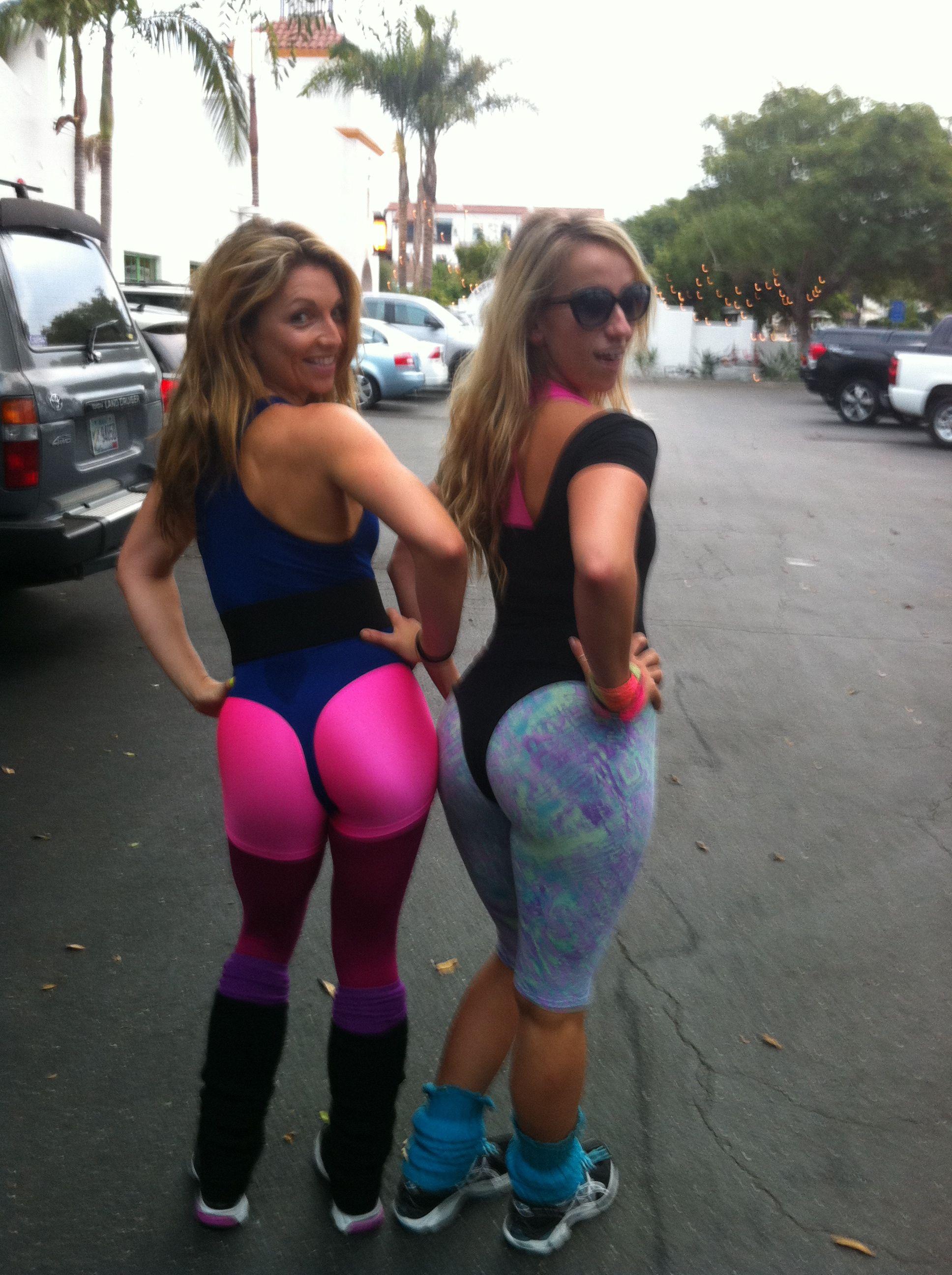 Thongs girls aerobics gallery