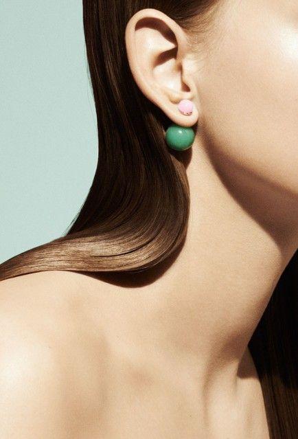 The New Look   The Mise en Dior Single Earrings