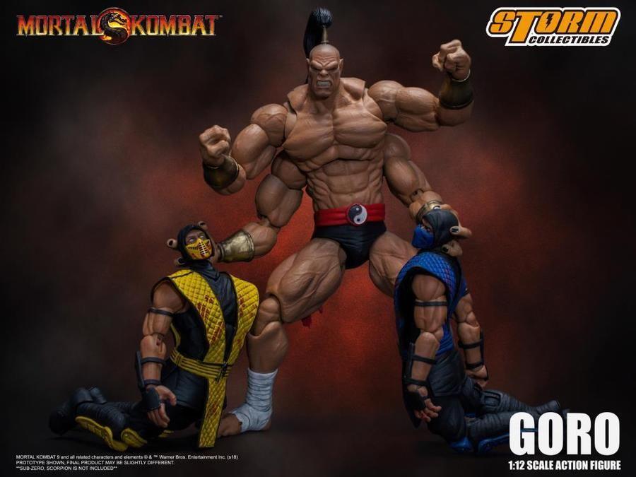 Storm Collectibles mortal kombat Goro 1//12 Scale Action Figure PRE-COMMANDE