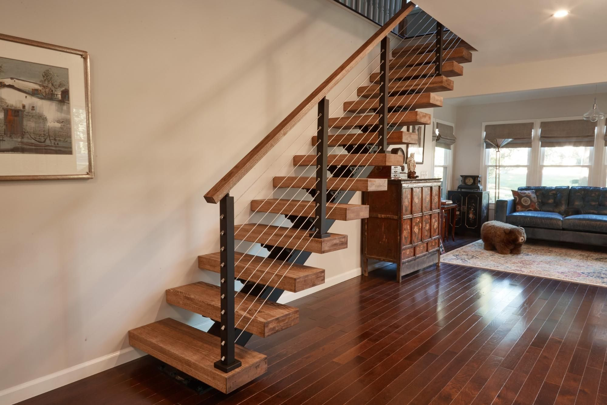 Best Floating Stair Diy Install In 2020 With Images Stairs 400 x 300