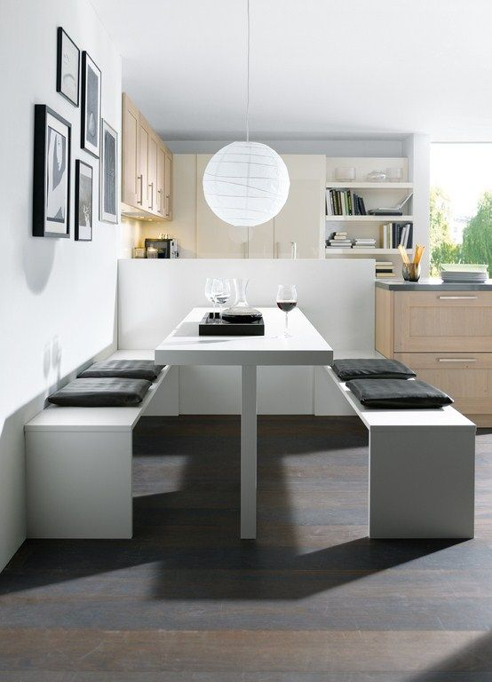 Mobiliairo de cocina elementa modelo castell roble con - Cocina comedor integrados ...