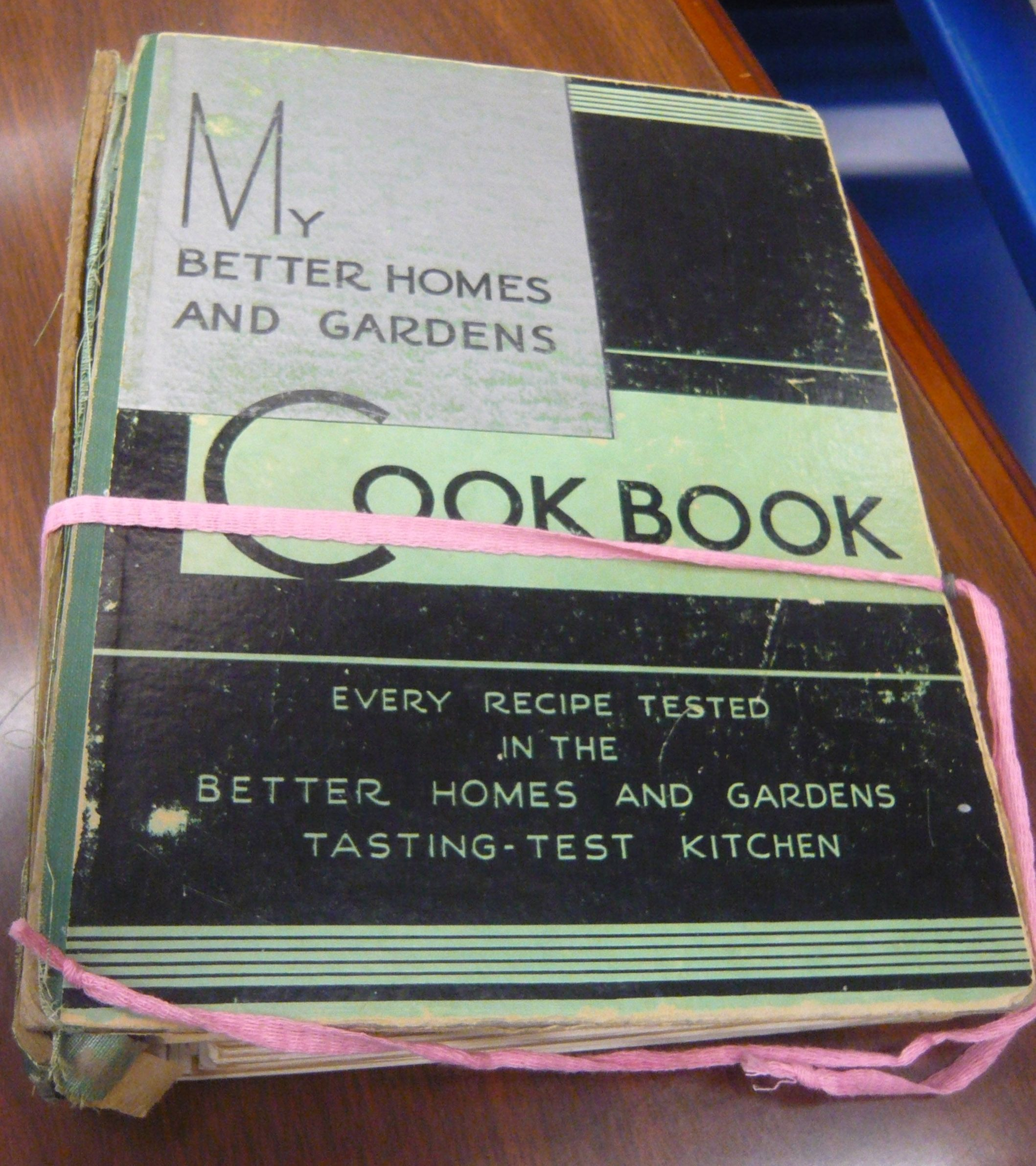 Husted Collection Curios: My Better Homes & Gardens Cook Book, by ...
