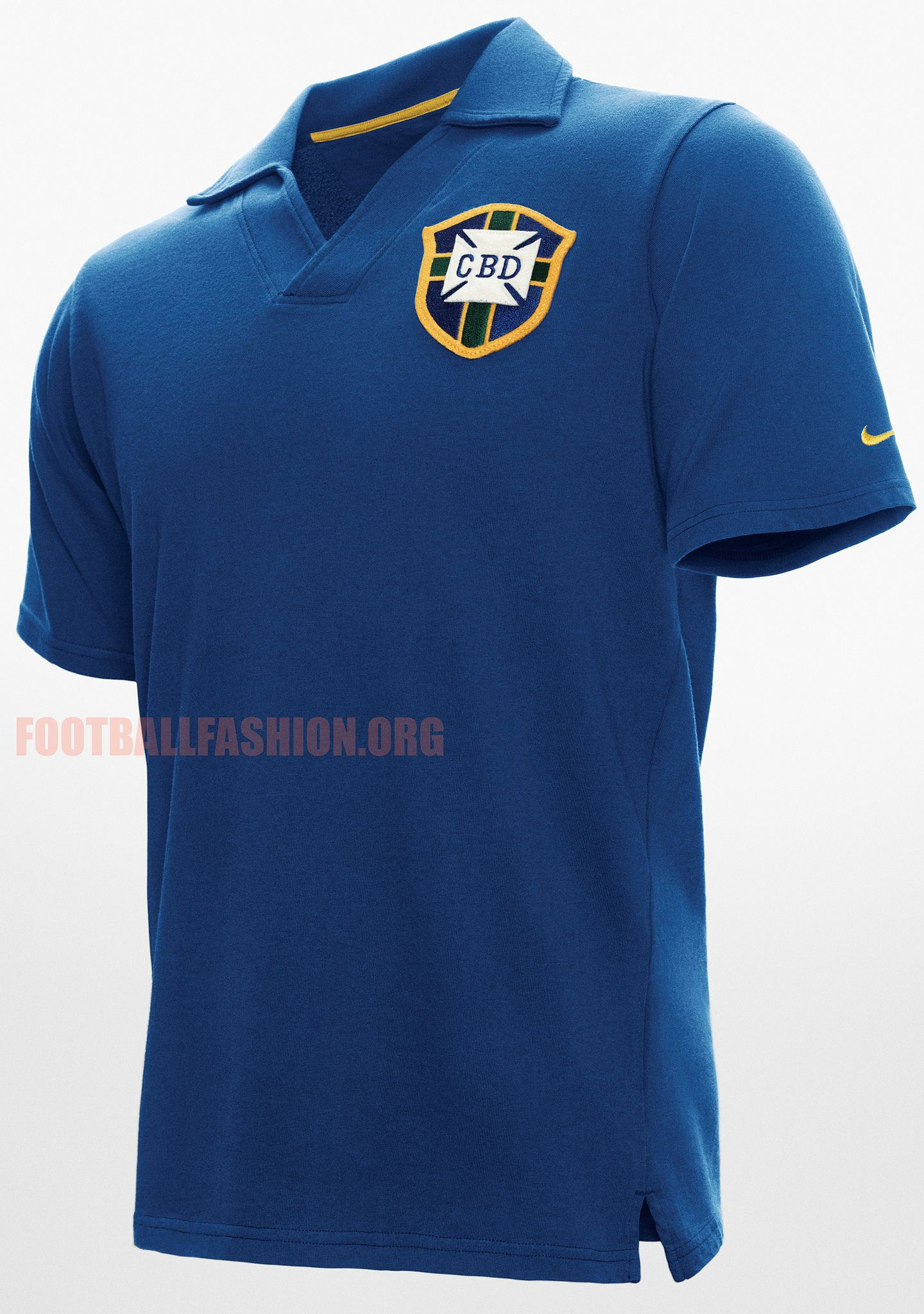 24f0e2f9149 Brazil Nike 1958 World Cup Commemorative Jersey