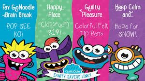 gonoodle monsters - Google Search