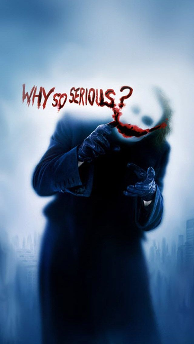 Joker Why So Serious Iphone 5 Wallpapers Background And Wallpapers Joker Wallpapers Joker Joker Hd Wallpaper