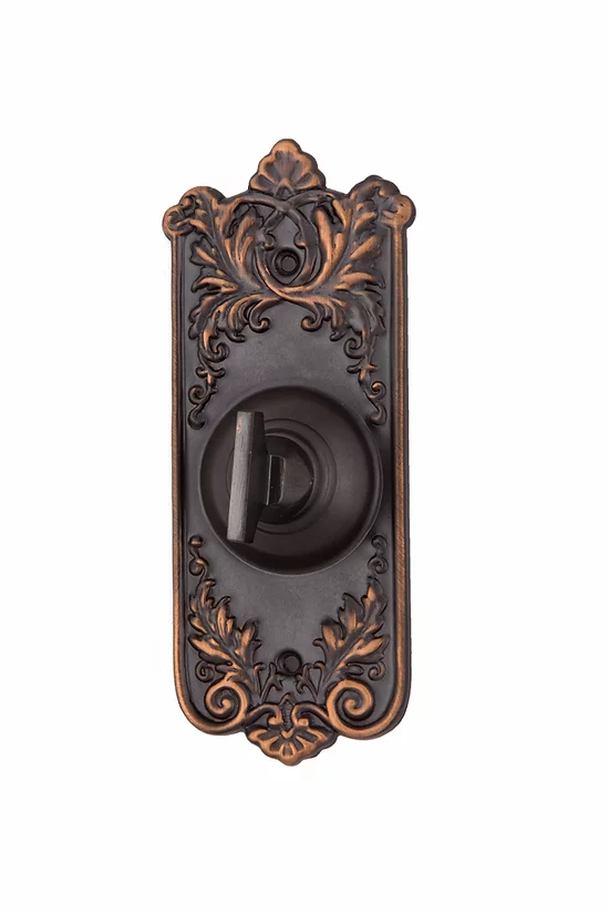 Lorraine Mechanical Doorbell Turn #0923.US10B | charleston-hardware
