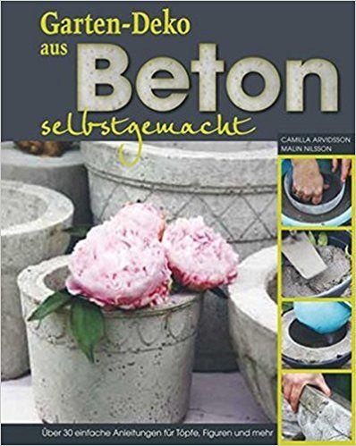 Gartendeko aus Beton selber machen - Über 30 einfache Anleitungen - gartendeko selber machen beton