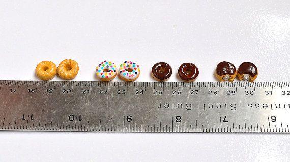 Puces donuts gougeons donuts bijou gourmand par LaFeeGourmande