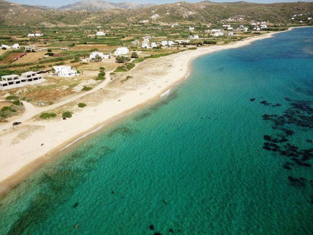 Plaka Beach Naxos Greece With Images