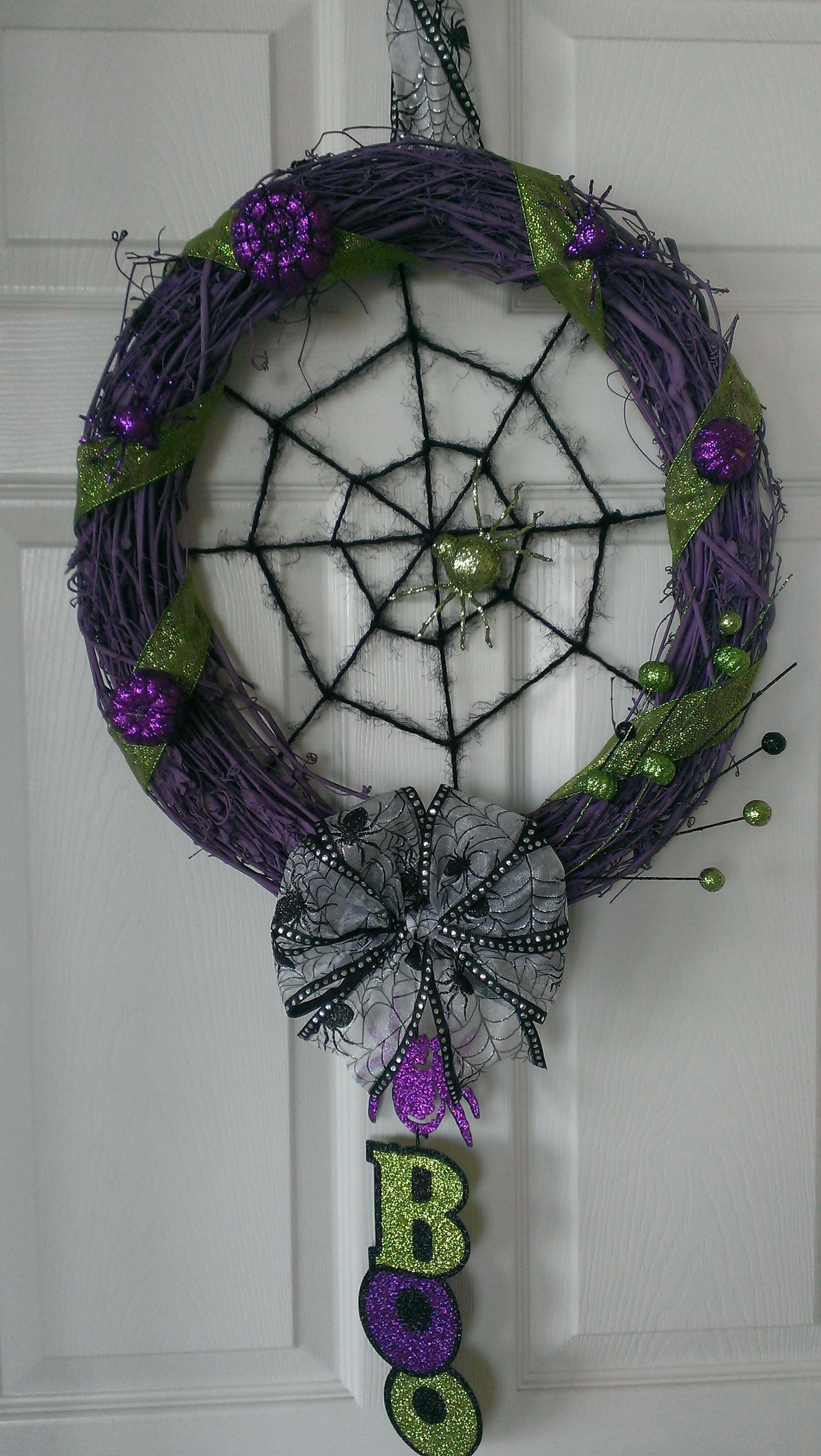 My Halloween Wreath!