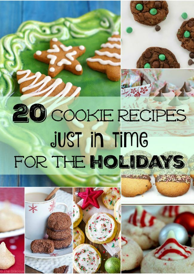 Dandy Christmas dessert recipes! These Christmas cookies are perfect