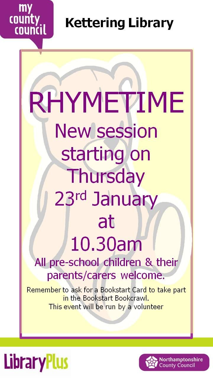 Rhymetime at Kettering Library