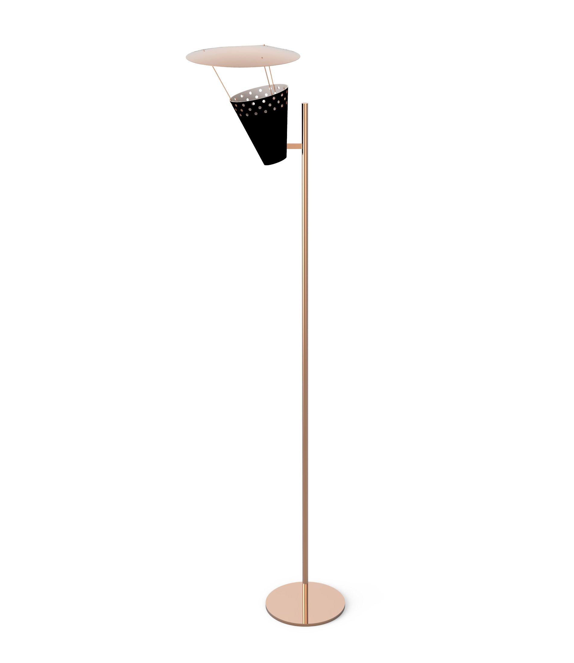 Contemporary Lighting Brightens Up New Cross Lofts Interiors Floor Lamp Scandinavian Floor Lamps Cool Floor Lamps